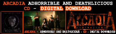 ARCADIA 5th album, Adhorrible and Deathlicious soon available for pre-sale on ITunes
